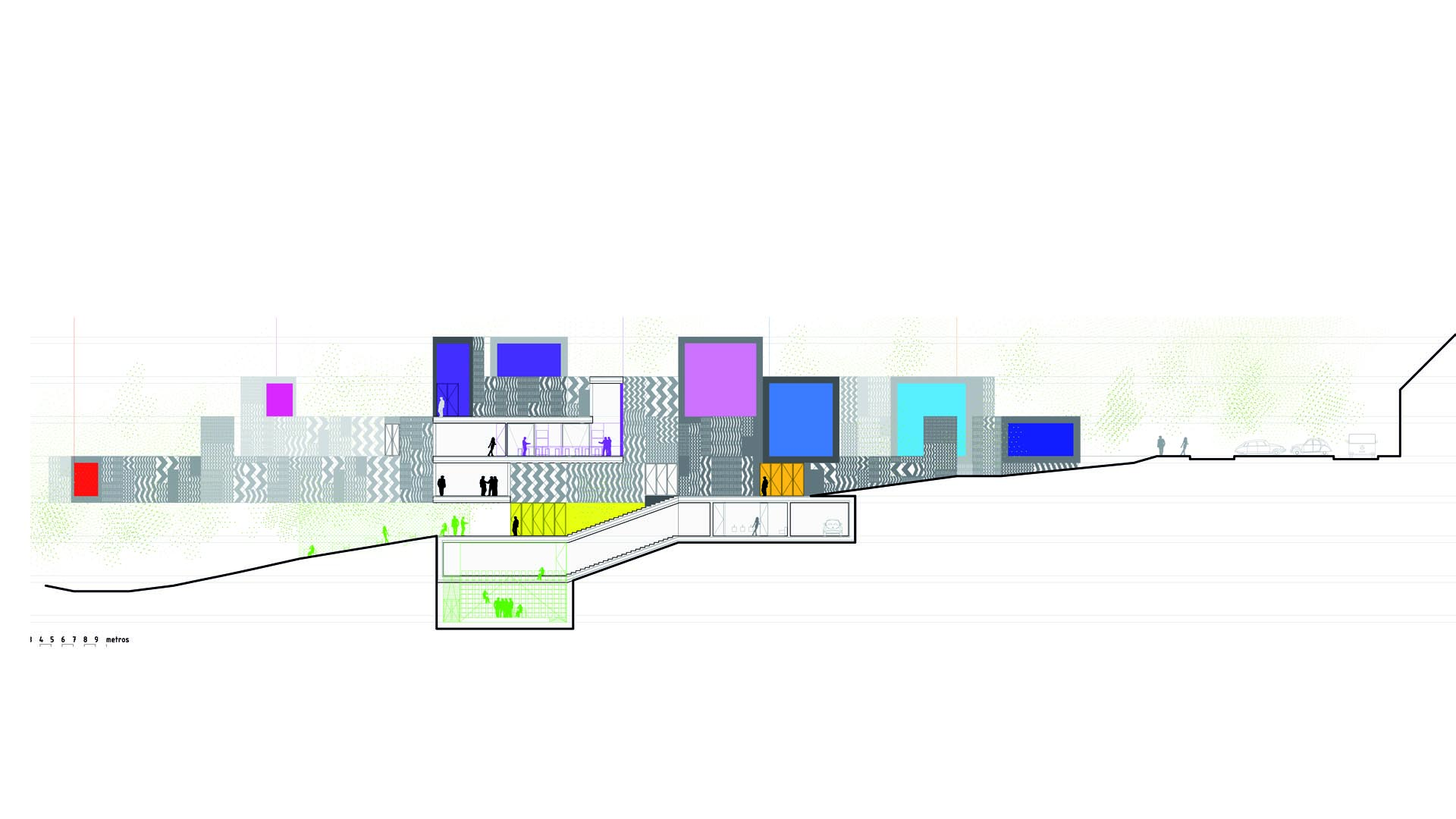 Bcc ping pong arquitectura for Escuela arquitectura donostia