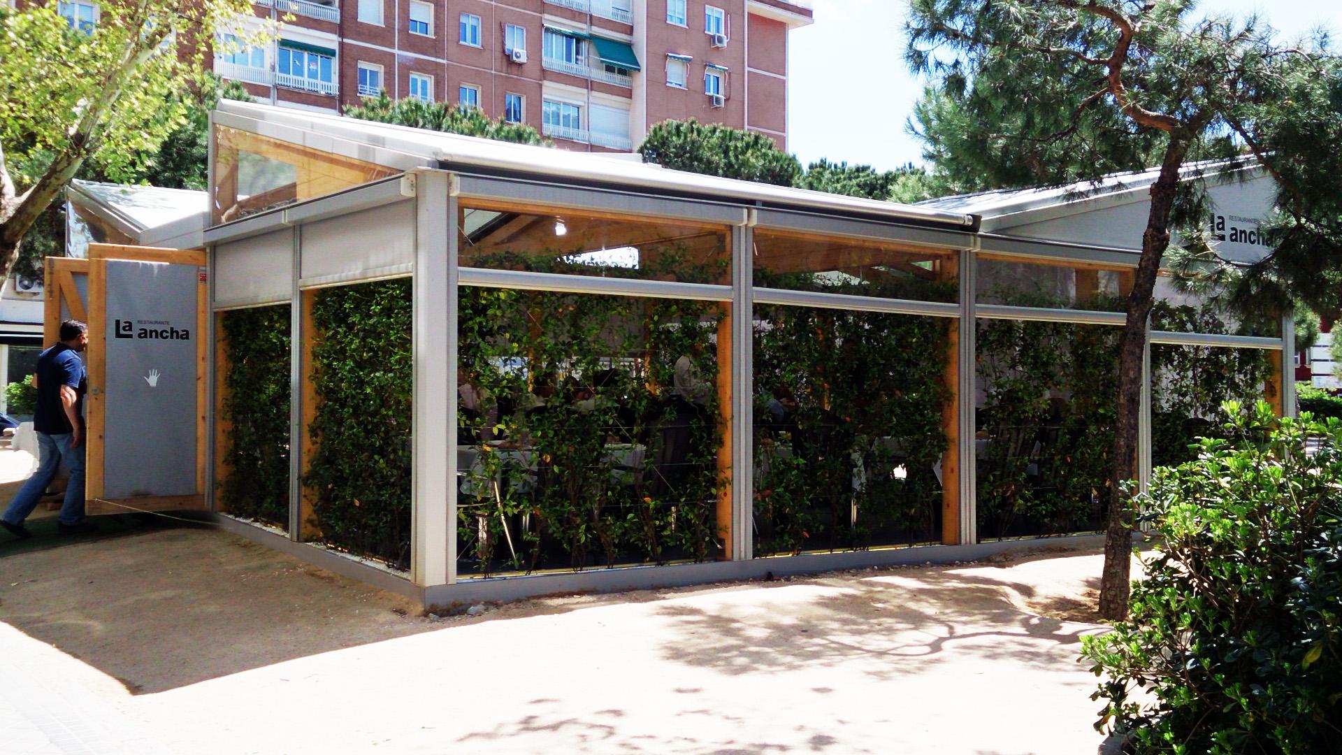 Estructuras metalicas para terrazas fabulous luxury - Pergolas para terrazas ...