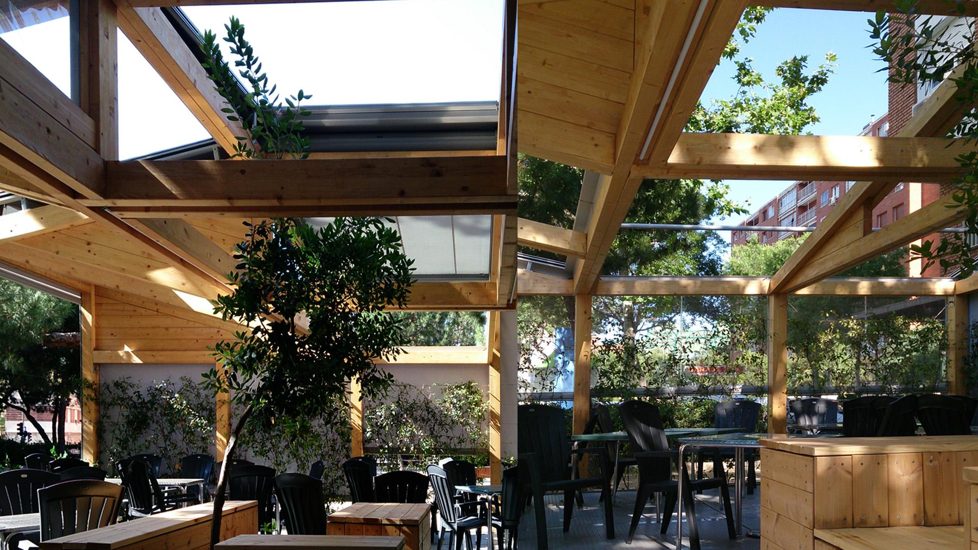 Terraza Laancha Ping Pong Arquitectura